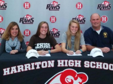 Jane, Maura Henderson (Harriton, Quaker City) sign with Lehigh