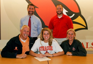 Julie signs with Syracuse
