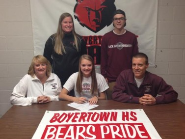 Karli Gilbert signs with Lock Haven