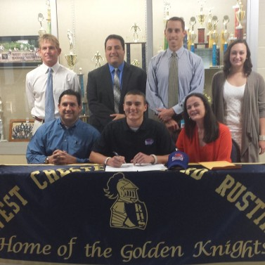 Mark Campanile signs with UMass-Lowell