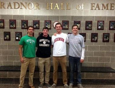 Michael Farnish, University of Notre Dame Tommy Meyers,  University of Massachusetts Hal Marshall, Dickinson College Jack Norton, Amherst College