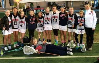 STEPS champions: Team members from left: Grace Hinkle, Chloe Rayer, Talie Jordan, Molly McGoldrick, Caroline Antonacio, Sophie Proctor, Maggie Pearson, Paige Affet, Gillian Brennan, Avery Myers , Phoebe Proctor (goalie) and Coach Erin Dunne.