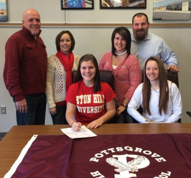 Pottsgrove's Hailey Jacobs signs with Seton Hill