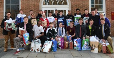 Haverford School players assisted seniors through ElderNet