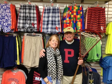 Carole and Chris Hupfeldt have made Competitive Edge a special place to buy lacrosse equipment and apparel for 16 years