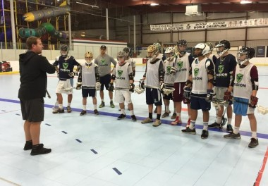 USBoxLa coach Matt Brown instructs players during a clinic last week at Marple's