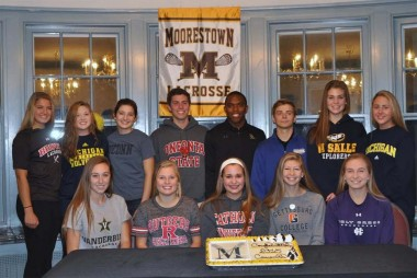 Moorestown lacrosse seniors head to college programs