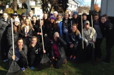 Scranton women's lacrosse team