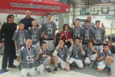 Rising Sons 2021 PeeWee Major winners