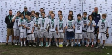 The Rusing Sons 2121 claimed the Bronze Medal at the Dick's TOC in the U11 division