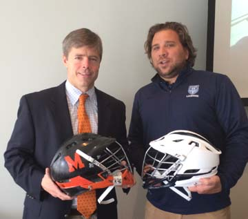 McDonogh coach Andy Hilgartner, Episcopal Academy coach Andy Hayes will face off in the PNC Invitational on March 28