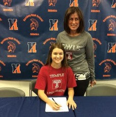 Molly Luderitz signs with Temple