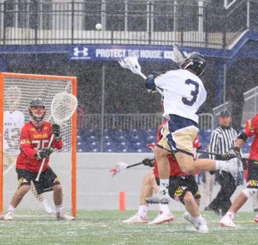 Navy's TJ Hanzsche had the team's lone goal