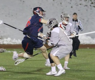 Penn's Connor Keating (Haverford School) scoring