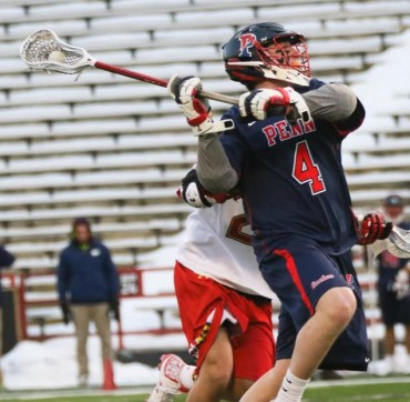 Penn's Kevin McGeary (Malvern Prep) takes a shot (Photo by Rene Schleicher)