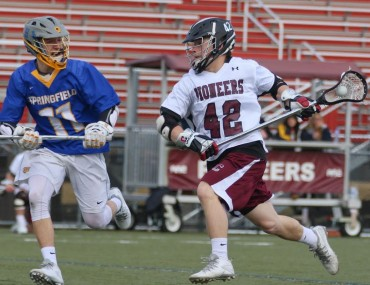 Conestoga's Brent Pittman had the game-winner Friday night vs. Springfield-Delco (Photo for Phillylacrosse.com)