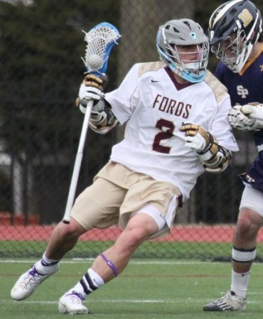 Haverford School's Grant Ament had four goals and six assists in Friday's wib (Photo for Phillylacrosse.com)