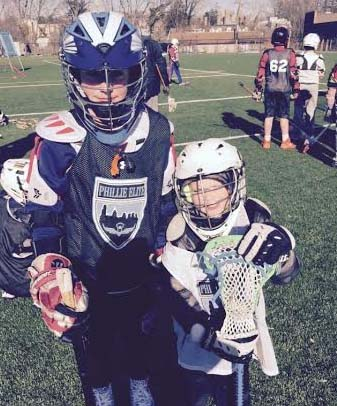 Youth players enjoy the lacrosse training Saturday at the Phillie Elite/LB3 Clinic at Shipley School