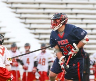 Penn midfielder Joe McCallion (Haverford School) will lead his Quakers into the Saturday challenge game vs. Virginia
