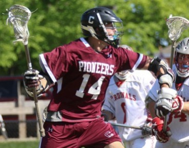 Conestoga's Steve Hildebrand had the game-winner Thursday in the Pioneers' 10-9 overtime win