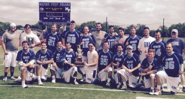 GMH Philadelphia celebrates its 2015 American lacrosse league championship