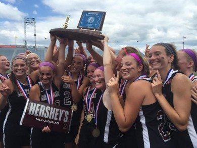 Garnet Valley celebrates the 2015 PIAA championship