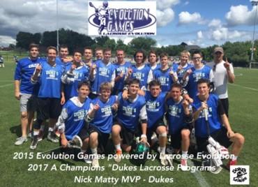 2017 A - Dukes Lacrosse Programs