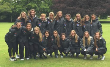 Teaa USA enjoys visiting the home of women's lacrosse at St Leonards's in Edinburgh, Scotland