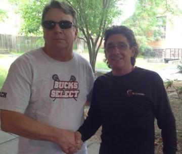 Bucks Select President Jeff Bruemmer, AILA Oresident Johnny Mouradian