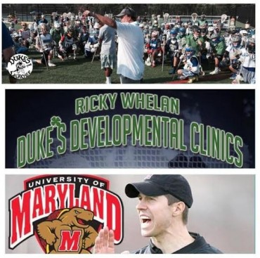 Maryland coach John Tillman will speak at the Ricky Whelan clinic Sunday