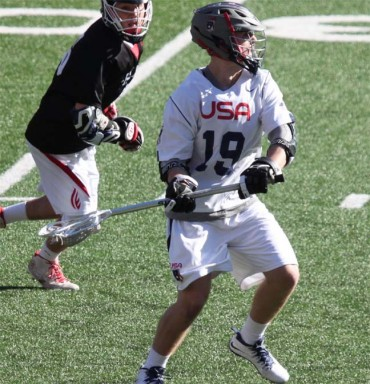 Drew Supinski scored two goals for Team USA
