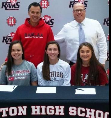 Harriton lacrosse signing