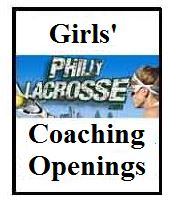 Girls coaching openings