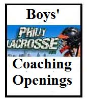 Boys coaching openings