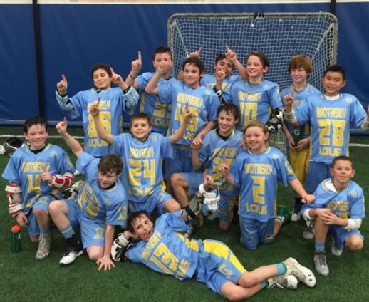 Team Brotherly Love won the 3rd-4th Grade championship of the Maplezone Winter League