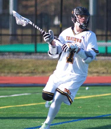 Ursinus' Lou Harrison (Ridley) had two goals, an assists and four groundballs to help the Bears defeat Mary Washington (Photo by Alan Simpson)