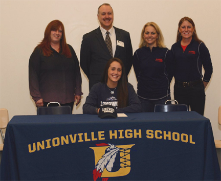 Olivia Zubillaga signs withg Longwood