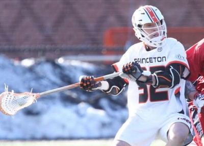 Princeton's Gavin McBride (Haverford School) takes his shot (photo by Beverly Scheafer)