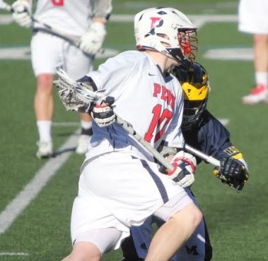 Penn's Reilly Hupfeldt (Haverford School), scored once for the Quakers