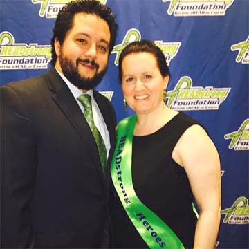 Nicholas E. Colleluori Aard winner Lauren Shermer and husband Joe