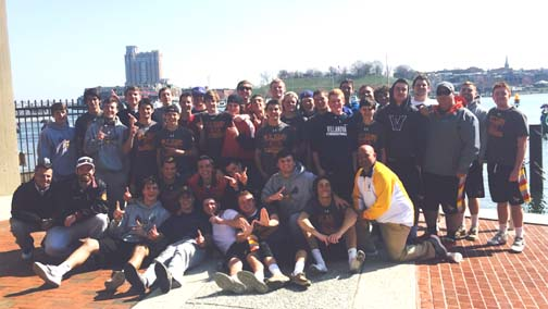 WC East enjoys the Inner harbor in Baltimore after Saturday's double OT win