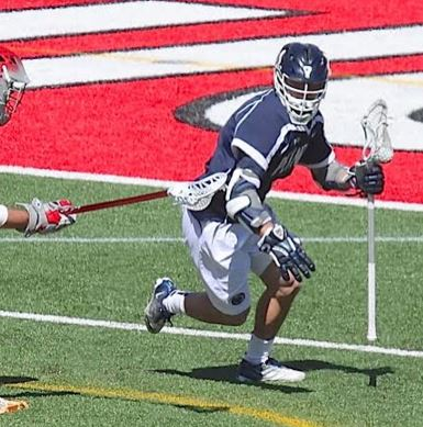 Grant Ament (Haverford School, Duke's LC) had two assists for the Lions