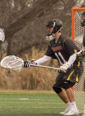 Ursinus goalie Brian Neff was a 2nd team All-American pick (Photo by Alan Simpson)