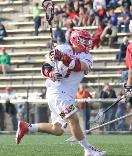 La Salle/Duke's L.C. grad Matt Rambo (100 career goals) leads No. 1 Maryland