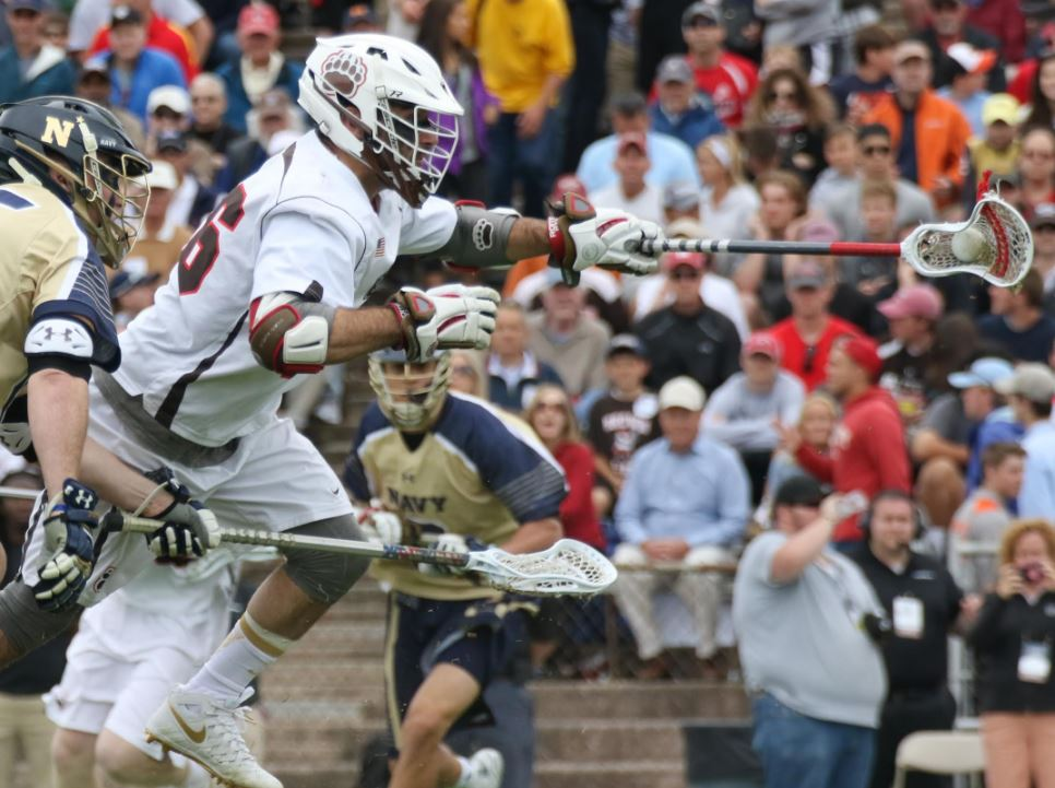 Will Gural has dominated the face-offs for Brown