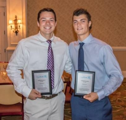 Ches-Mont MVPs Ryan McNulty, Nick Cardile