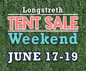 Longstreth tent sale