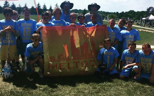 Team Brotherly Love Gold wins the 2023B title at NXT's Meltdown