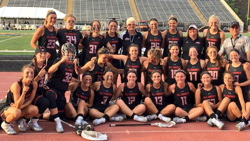 North team wins 13-11 in Girls' Senior All-American Game - Photo by Tom Peace