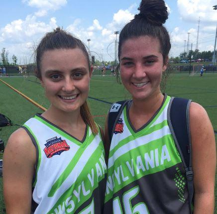 Team Pennsylvania's Macaul Mellor, Lyndsey Morhardt